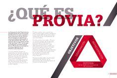 """Brochure for """"Provía, Asociación de Promotores Inmobiliarios de la Provincia de Alicante"""". www.iamican.com"""