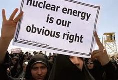 """STATE DEPARTMENT—U.S. Secretary of State John Kerry says he and his French counterpart, Laurent Fabius, agree that Iran has a right to a peaceful nuclear program but """"not a track to a bomb."""" More at http://andrewtheprophet.com/blog/2014/11/06/ready-to-concede-uranium-to-iran/"""