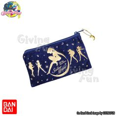 BANDAI Sailor Moon Cosplay Girl's Zipper Bag w/ Moon Drop Moonlight Pouch JAPAN #BANDAISailorMoon20thAnniversary