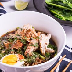 Marion's Kitchen is packed with simple and delicious Asian recipes and food ideas. Chicken Noodle Soup Ingredients, Soup Recipes, Cooking Recipes, Noodle Recipes, Asian Soup, Asian Recipes, Ethnic Recipes, Braised Chicken, Soups And Stews