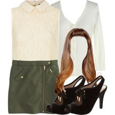 """""""Lydia Inspired Outfit with Requested Skirt"""" by veterization on Polyvore"""