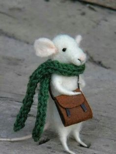 Bag with scarf