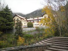 """""""Villavicencio"""" Abandoned hotel in Mendoza, Argentina in autumn mood """"Villavicencio"""" Verlassenes Hotel in Mendoza, Argentinien in Herbstsstimmung"""