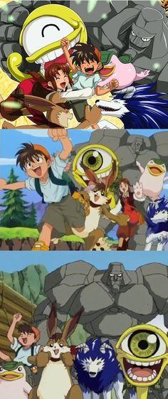 Monster Rancher (April 17, 1999 to September 30, 2001)