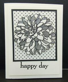 Regarding Dahlias, Happy Day, Modern Medley, Stampin Up