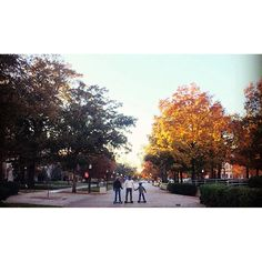 University of Oklahoma campus in the Fall