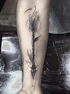 """Découvrez les tatouages façon """"crayon à papier"""" de Frank Carrilho"""