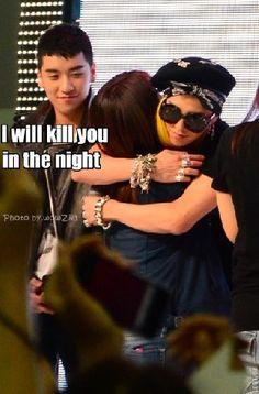 Seungri and G-Dragon (Choi Seung Hyun) ♡ #BIGBANG #FUNNY