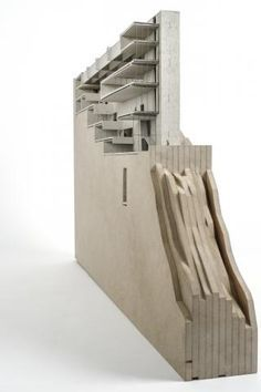 architecture sectional site model - Google Search