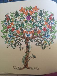 Secret Garden By Johanna Basford Colored Michelle Herren