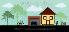 Construction de garage en bois pour la maison individuelle- le cout de garage…