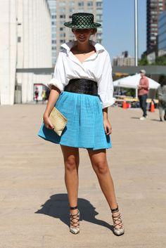 #fashion-ivabellini Fashion Week Street Style
