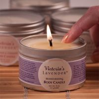 Massage Body Candle Tropical Lavender