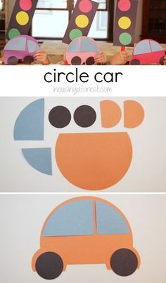 Preschool Transportation Theme ~ How To Make A Circular Car - Transportation Cr .Preschool Transportation Theme ~ How To Make A Circular Car - Transportation Crafts - Crafts in Manufacturing Circular Car man Numbers craft Preschool Transportation Crafts, Cars Preschool, Transportation Unit, Preschool Themes, Preschool Crafts, Toddler Crafts, Crafts For Kids, Car Crafts, Children Crafts