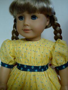 Kirsten's yellow summer dress