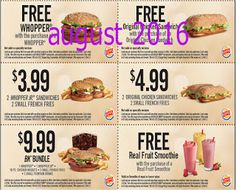 Burger King Coupons Promo Coupons will expired on MAY 2020 ! About Burger King Have a Burger King coupon at mealtime. Kfc Coupons, Grocery Coupons, Online Coupons, Print Coupons, Free Printable Coupons, Free Coupons, Free Printables, French Sandwich, Coupons For Boyfriend