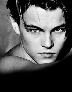 "Leonardo DiCaprio is one of the most popular actors in Hollywood. He was seen on important movies like ""What's Eating Gilbert Grape"", ""Titanic"", ""Gang Helmut Newton, Celebrity Photographers, Celebrity Portraits, Celebrity Photos, Celebrity Headshots, Celebrity Couples, Celebrity Crush, Young Leonardo Dicaprio, Foto Fashion"