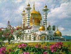 Masjid Ubudiah- Kuala Kangsar, Malaysia. Beautiful