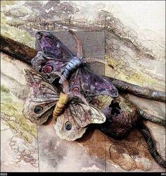 wildlife artists in Textiles  annemieke mein  by nocturnalblogger22.wordpress.com