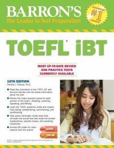 Barrons TOEFL iBT