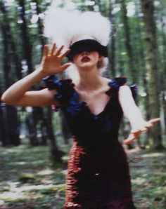 """""""At that time"""". Photographed by Ellen Von Unwerth for Vogue Italia"""