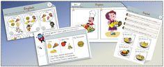 FOOD / séquences et  fiches élève