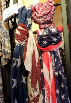 Wrap yourself in patriotic colors at Francesca's at Barefoot Landing! #Fashion
