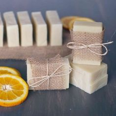 This recipe combines orange and tea tree oils for a refreshing and revitalizing soap that's perfect for summer!