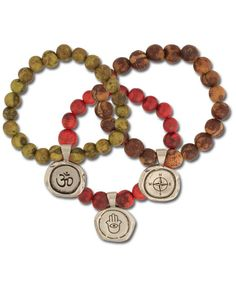 Soul Acai Bead Bracelets at Soul Flower Clothing, $18.00