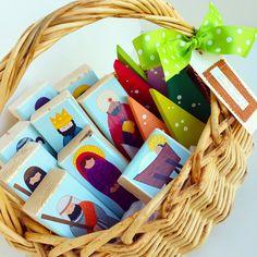Raising up Rubies: wooden nativity blocks