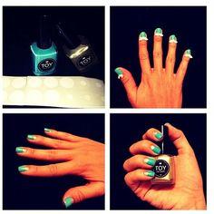 BLUE TOY NAIL POLISH Class Ring, Nail Polish, Toys, Nails, Blue, Beauty, Activity Toys, Finger Nails, Ongles