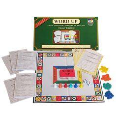 WORD UP Home Edition - ESL Quiz Board Game