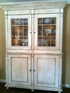 """Antique"" French China Cabinet"