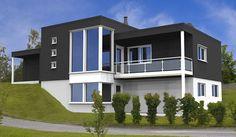 Hus Gabbro - Moderne. Ferdighus fra HIBA HUS - HIBA HUS