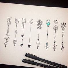 30 great arrow tattoos for women - tattoos - 30 amazing arrow tattoos for . - 30 great arrow tattoos for women – tattoos – 30 amazing arrow tattoos for women arrows are quic - Kunst Tattoos, Neue Tattoos, Tattoo Drawings, Body Art Tattoos, Tatoos, Tattoo Son, Diy Tattoo, 3 Sister Tattoos, Friend Tattoos
