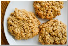 Instant PB Oatmeal Cookies #easy
