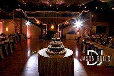 Cake spotlighting by DJ Jason Rullo at Antonelli Event Center in IRWIN, PA. #PittsburghWedding #PittsburghWeddingDJ Wedding Dj, Wedding Ceremony, Wedding Cakes, Wedding Ideas, Professional Dj, School Dances, Recent Events, Wedding Receptions, Anniversary Parties