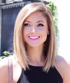 Image result for blonde lob hairstyles