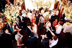 The after party #modernbarnwedding #saddleriverinn - Invitation Photos by Fourteen-Forty | Photography by Reena Rose Photography  #modernwedding #barnwedding #navy #persimmon #fourteenforty www.1440nyc.com/margot-kevin-wedding-saddle-river-inn