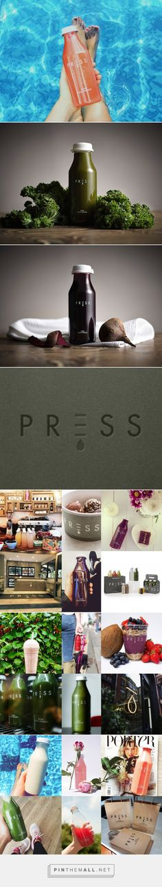 Press Juice Branding and Packaging by Rand Studio | Fivestar Branding Agency – Design and Branding Agency & Curated Inspiration Gallery