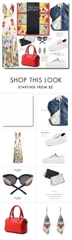"""Summer's up with YES STYLE"" by kts-desilva ❤ liked on Polyvore featuring ssongbyssong, Joelle, Pangmama, GIMMAX Glasses, Seirios, Summer, weekend, getaway and yesstyle"