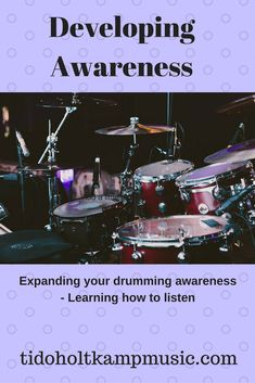 In this article, I look at the concept of developing awareness of body use while you are drumming