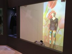 3D Projection Mapping on a mannequin