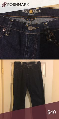 Lucky Brand Jeans Form Fitting Good Condition Lucky Brand Pants Straight Leg