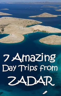 Expand your horizons on one of these amazing day trips from Zadar Croatia Travel Guide, European City Breaks, Travel Inspiration, Travel Ideas, Travel Tips, European Destination, Backpacking Europe, Roadtrip, Wanderlust Travel
