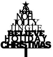 The Free SVG Blog: Christmas Word Tree - Free Christmas SVG