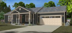 The New FI-988 Veronica Model Home Brought To You By Foremost Industries, Inc. In Greencastle, PA