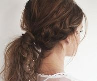 Messy braid and ponytail with jewels Smile Pictures, Morning Pictures, Love Husband Quotes, Best Love Quotes, Curls No Heat, Messy Braids, Good Morning Picture, Good Morning Greetings, Facebook Image