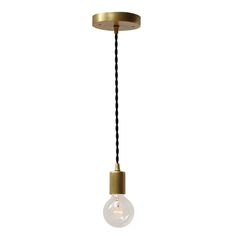 Timberline cord pendant from Cedar & Moss