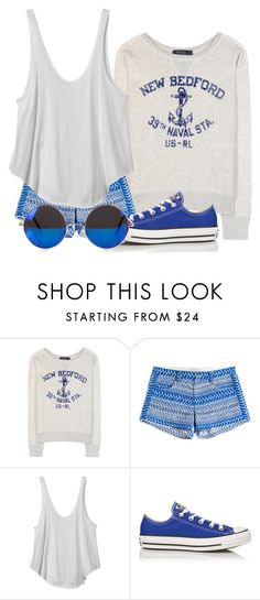 """""""Summer"""" by leylabella ❤ liked on Polyvore featuring Polo Ralph Lauren, IRO, RVCA, Converse and NLY Accessories"""